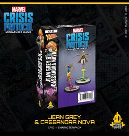 Atomic Mass Games Marvel Crisis Protocol (Jean Grey and Cassandra Nova)
