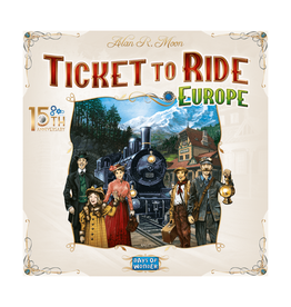 Ticket to Ride (Europe - 15th Anniversary)