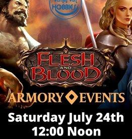 Flesh & Blood Armory Event