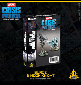 Atomic Mass Games Marvel Crisis Protocol (Blade and Moon Knight)