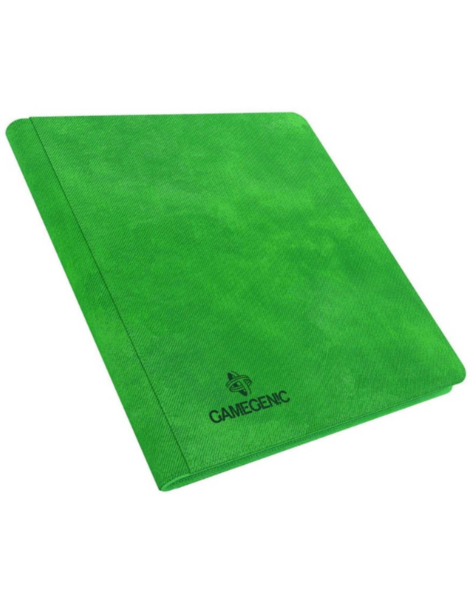 Gamegenic Zip-Up Album 24-Pocket (Green)