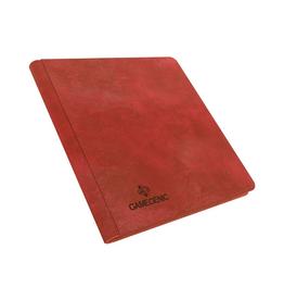 Gamegenic Zip-Up Album 24-Pocket (Red)