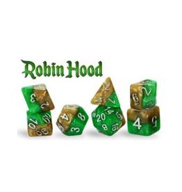 Gate Keeper Games 7-Die Set (Halfsies - Robin Hood)