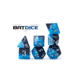 Gate Keeper Games 7-Die Set (Halfsies - Bat Dice)