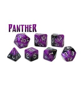 Gate Keeper Games 7-Die Set (Halfsies - Panther)