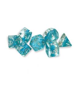 Gate Keeper Games 7-Die Set (Neutron - Glacier)