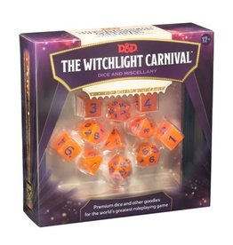 Wizards of the Coast Witchlight Carnival Dice Set (11 Dice Polyhedral Set)
