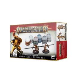 Games Workshop Stormcast Eternals Vindicators + Paints Set