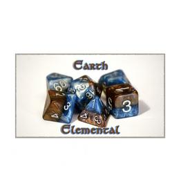 Gate Keeper Games 7-Die Set (Halfsies - Earth Elemental)