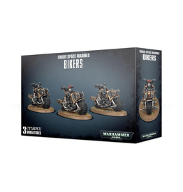 Games Workshop Chaos Space Marines Bikers