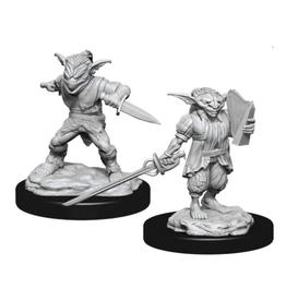 WizKids Male Goblin Rogue & Female Goblin Bard