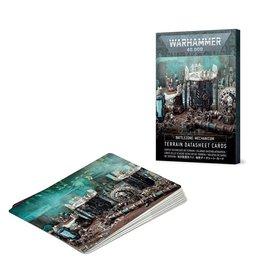 Games Workshop Battlezone Mechanicum: Terrain Cards