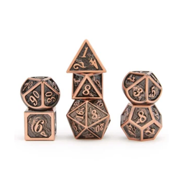 Hymgho Metal Dragon Dice (Solid - Brushed Copper)