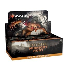 Wizards of the Coast Draft Booster Box (Innistrad: Midnight Hunt)