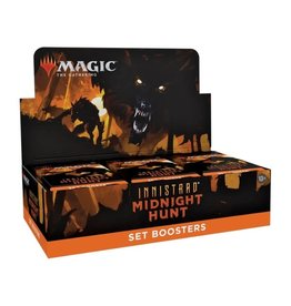 Wizards of the Coast Set Booster Box (Innistrad: Midnight Hunt)