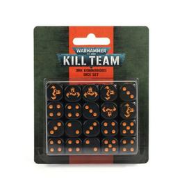 Games Workshop Kill Team: Ork Kommandos Dice Set