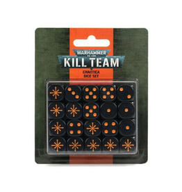 Games Workshop Kill Team: Chaotica Dice Set