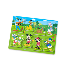 Melissa & Doug Wooden Chunky Puzzle (Mickey Mouse)