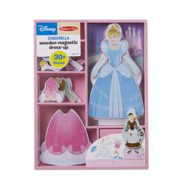 Melissa & Doug Wooden Magnetic Dress-Up (Cinderella)