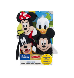 Melissa & Doug Soft & Cuddly Hand Puppets (Mickey Mouse)