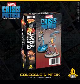 Atomic Mass Games Marvel Crisis Protocol (Colossus & Magik)
