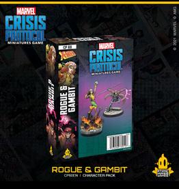Atomic Mass Games Marvel Crisis Protocol (Rogue & Gambit)
