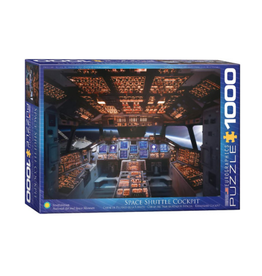 Eurographics Space Shuttle Cockpit (1000pc)