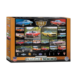 Eurographics American Cars of the 1960s (1000pc)