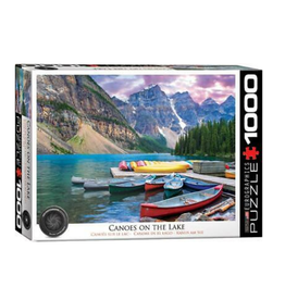 Eurographics Canoes on the Lake (1000pc)