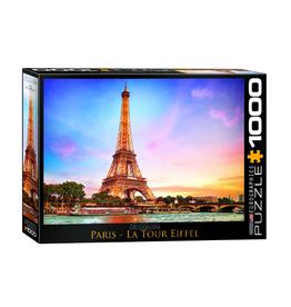 Eurographics Paris La Tour Eiffel (1000pc)