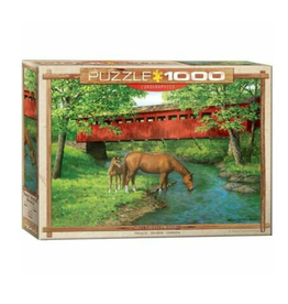 Eurographics Sweet Water Bridge by Weirs (1000pc)