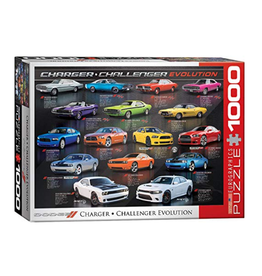 Eurographics Dodge Charger Challenger (1000pc)
