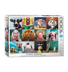 Eurographics Funny Animals by L. Heffernan (1000pc)
