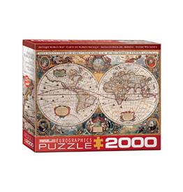 Eurographics Antique World Map (2000pc)
