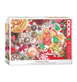 Eurographics Christmas Table (1000pc)
