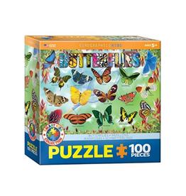 Eurographics Garden Butterflies (100pc)