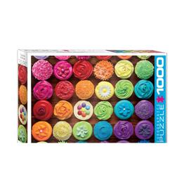 Eurographics Cupcake Rainbow (1000pc)