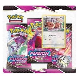 3-Booster Blister Pack (Fusion Strike)