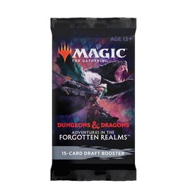 Wizards of the Coast Draft Booster Pack (Adventures in the Forgotten Realms)