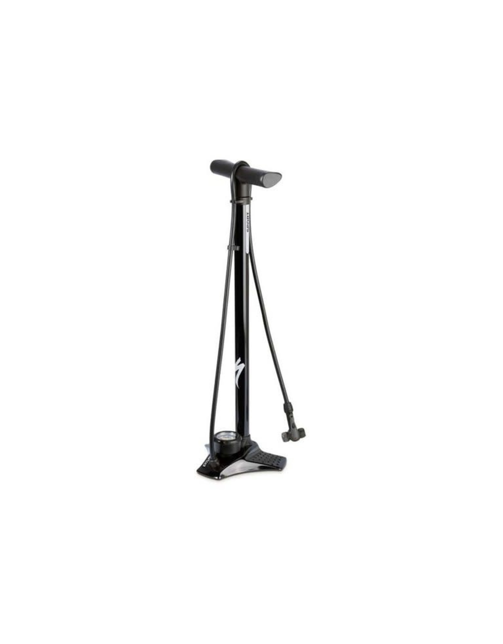 Specialized SPECIALIZED, AIR TOOL SPORT STEEL SWITCHHITTER II FLOOR PUMP - Black
