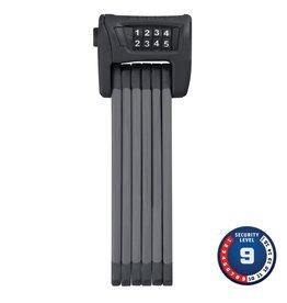 Abus Abus, Bordo 6100, Folding lock with combination, 90cm (3'), Bracket, Black