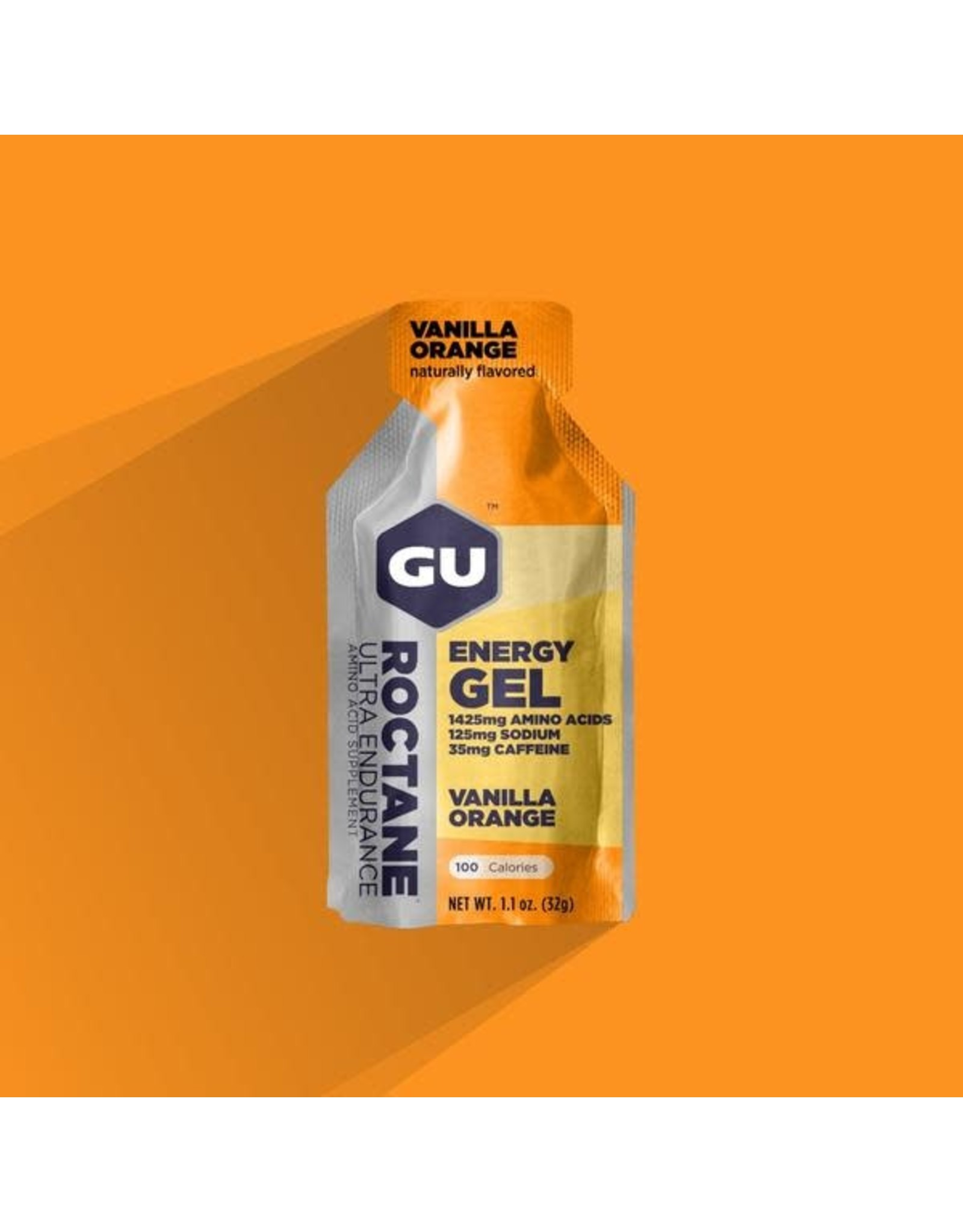 GU Energy Labs GU, Roctane Gel, Vanilla-Orange, Single