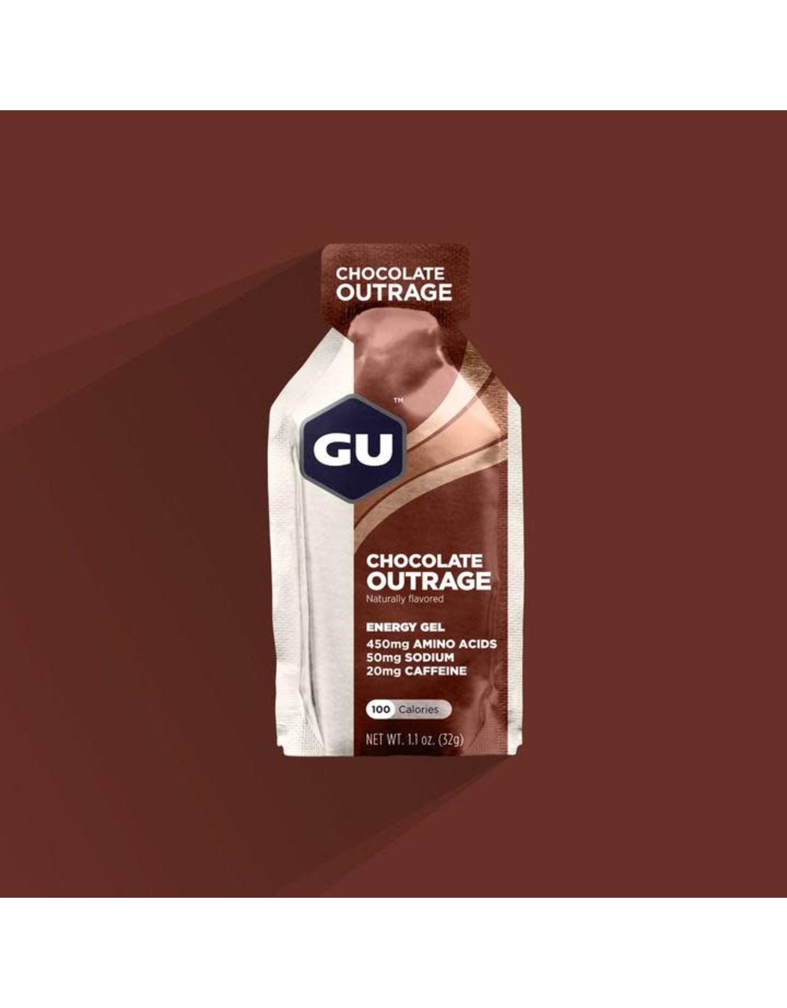 GU Energy Labs GU, Gel, Chocolate Outrage, Single