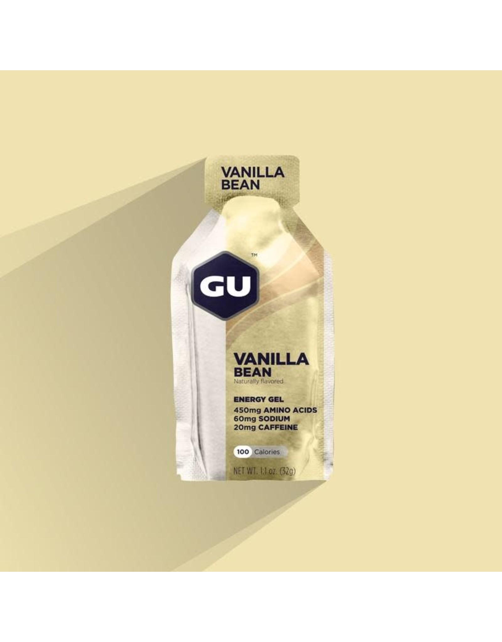 GU Energy Labs GU, Gel, Vanilla Bean, Single