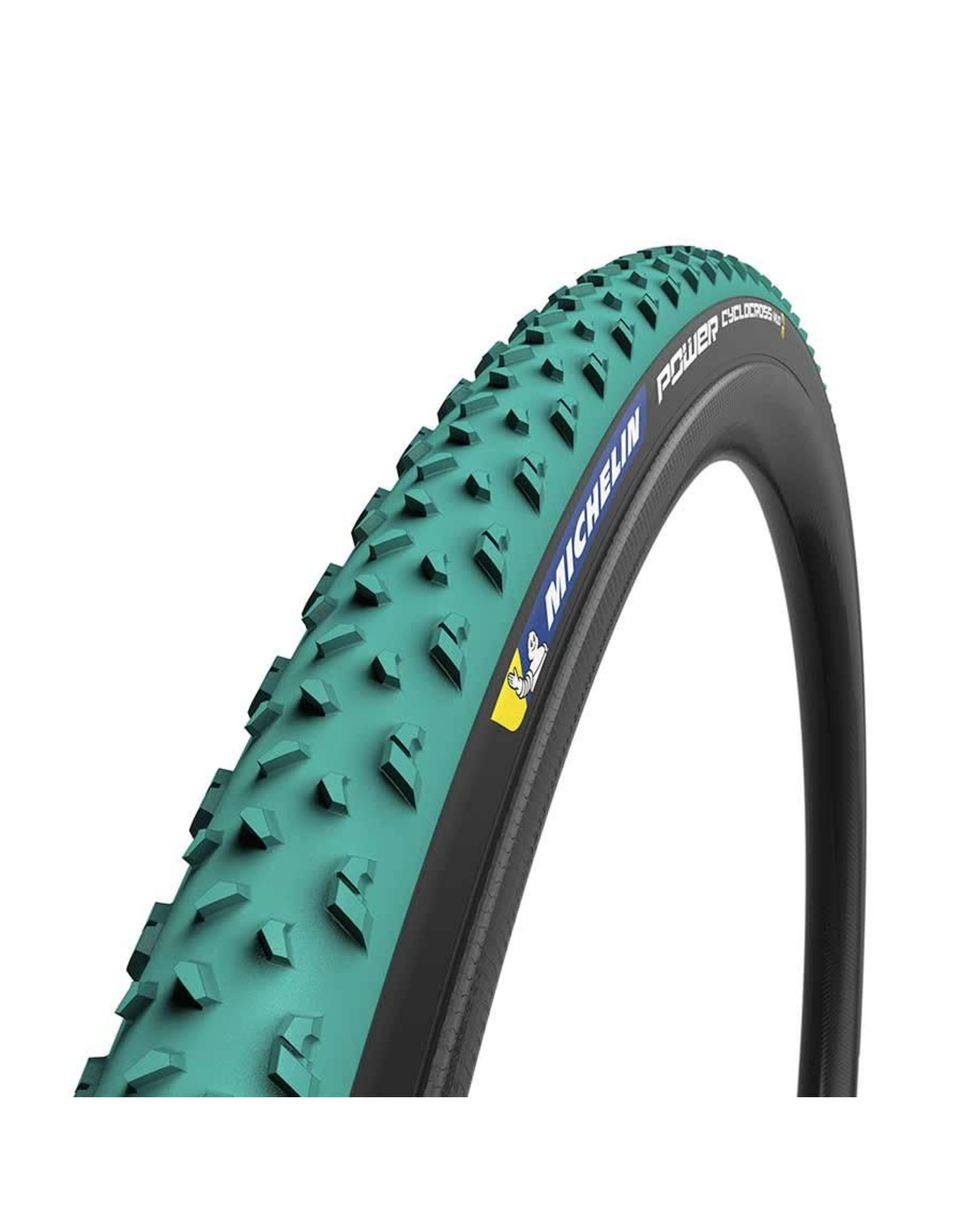 Michelin Michelin, Power Cyclocross Mud Tire, 700x33C, Folding, Tubeless Ready, Green Compound