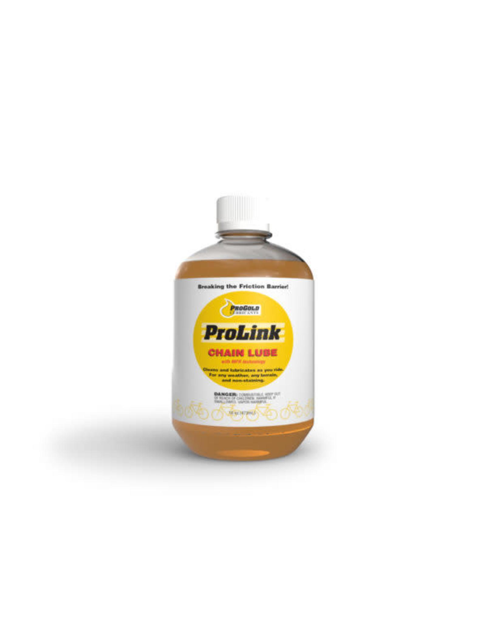 PRO GOLD Pro Gold PROLINK CHAIN LUBE - 16 OZ