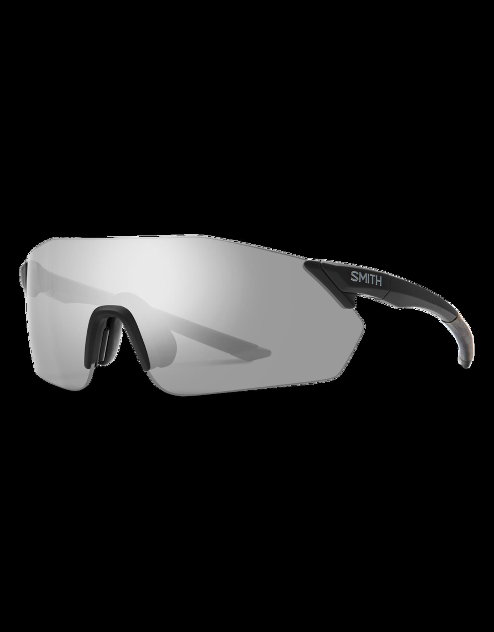 Smith SMITH, Sunglasses, Reverb, Black Frame, Chromapop Platinum Mirror Lens