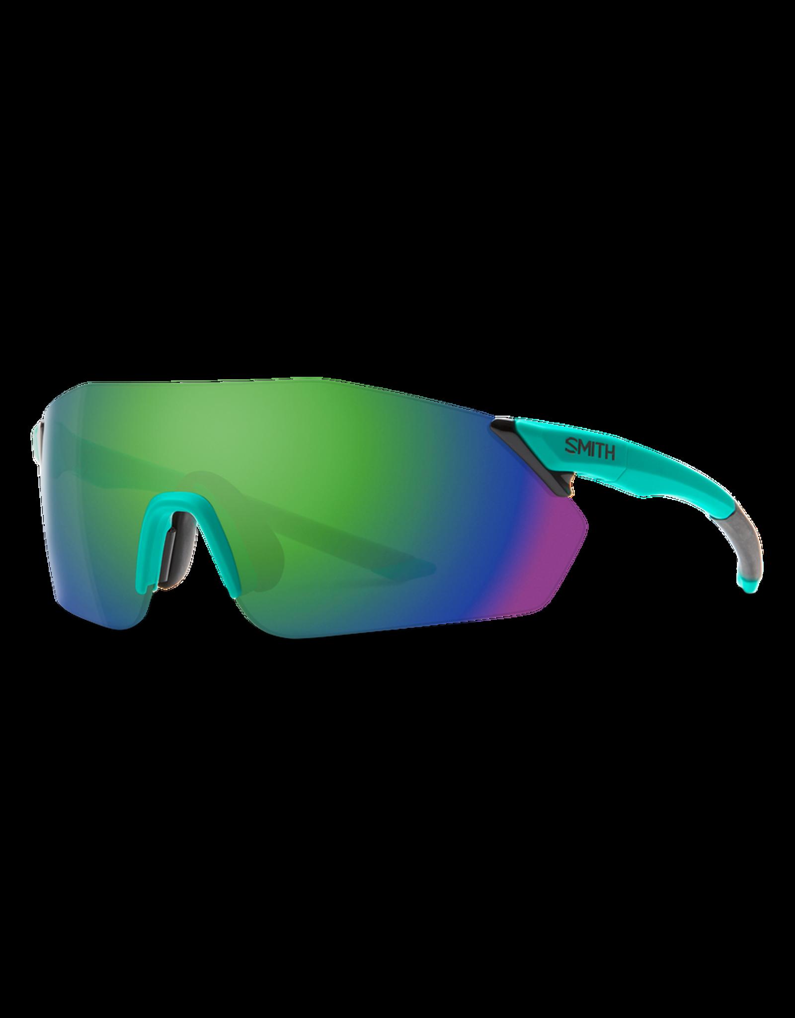 Smith SMITH, Sunglasses, Reverb, Matte Jade Frame, Chromapop Green Mirror Lens
