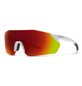 Smith SMITH, Sunglasses, Reverb, White Frame, Chromapop Red Mirror Lens