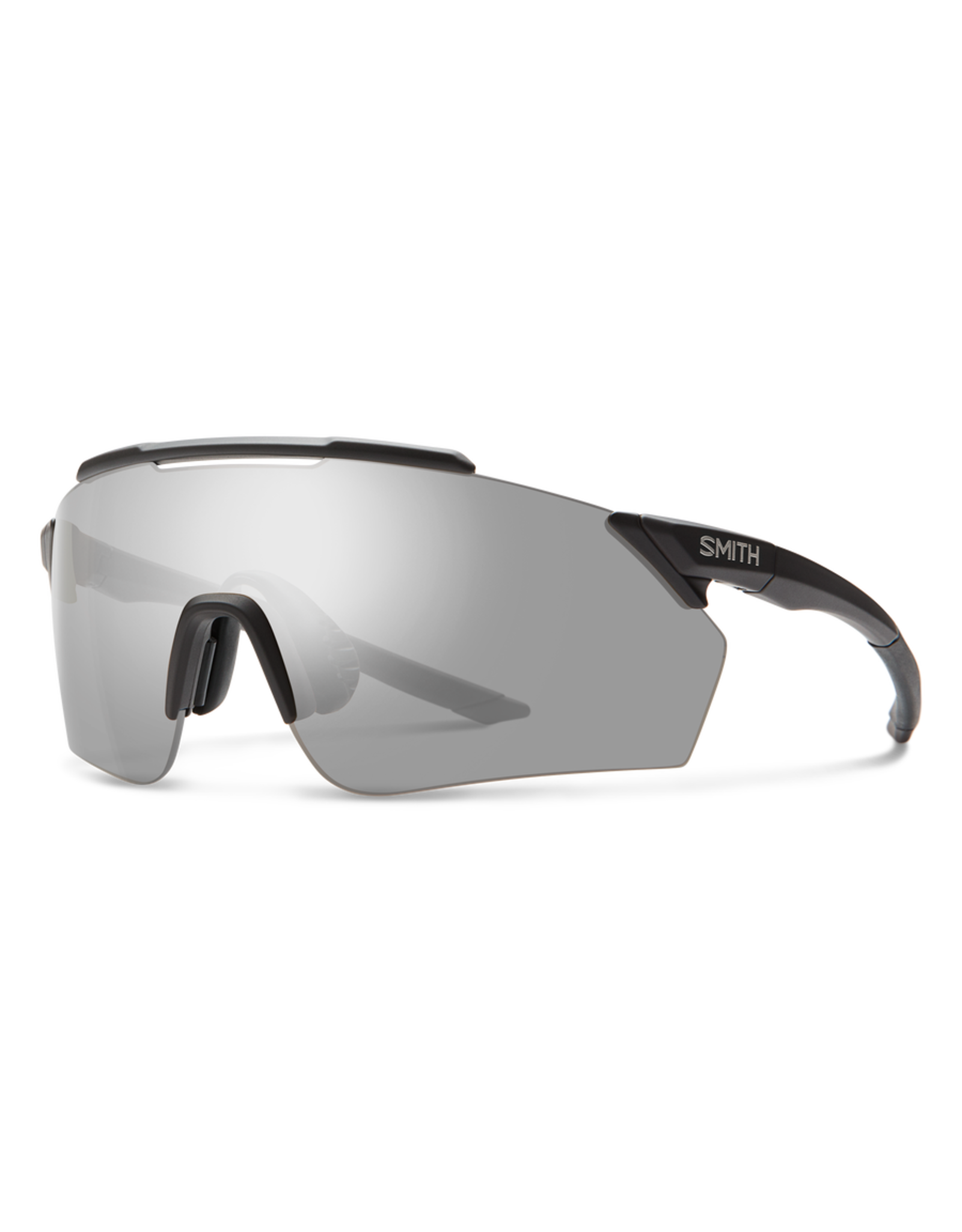 Smith SMITH, Sunglasses, Ruckus, Matte Black Frame, Chromapop Platinum Mirror Lens